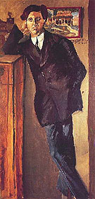 Alban Berg c1885 - Arnold Schoenberg