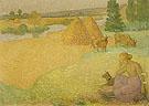 Girl Tending Cows c1890 - Arristide Maillol