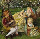 The Kings Orchard - Arthur Hughes