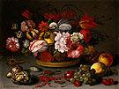 Basket Flowers c1622 - Balthasar van der Ast