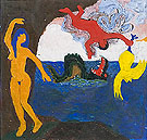 Untitled Perseus and Andromeda 1964 - Bob Thompson