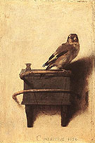 The Goldfinch 1654 - Carel Fabritius