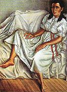Young Woman in White 1955 - Celia Calderon