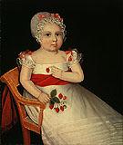 The Strawberry Girl - Ammi Phillips
