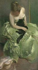 The Green Dress c1890 - John White Alexander