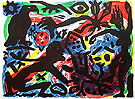 Situation now California 1992 - A R Penck