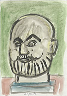 Untitled 1987 - A R Penck