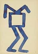 Untitled 5 1967 - A R Penck