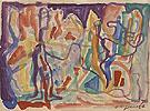 Untitled c1980 046 - A R Penck