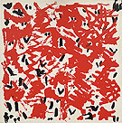 Untitled from the Portfolio Ur End Standard 1972 - A R Penck