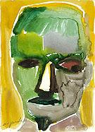 Untitled Kopf c1980 - A R Penck