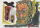 Untitled Selbstbildnis 1987 - A R Penck