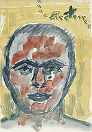 Untitled Self Portrait 1973 - A R Penck