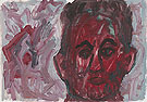 Untitled Self Portrait I 1987 - A R Penck
