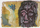 Untitled Self Portrait 4 1987 - A R Penck