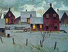 Winter Evening - A.J. Casson