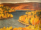 Autumn Redstone Lake 1937 - A.J. Casson