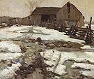 Sweetsburg Quebec 1910 - A.Y. Jackson