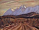 The Highway Near Kluane Lake 1943 - A.Y. Jackson