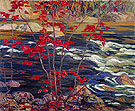 The Red Maple 1914 - A.Y. Jackson