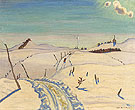 The Road to Saint Hilarion 1930 - A.Y. Jackson