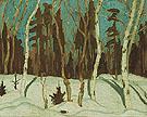 Winter Moonlight 1921 - A.Y. Jackson