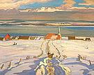 Winter Quebec 1926 - A.Y. Jackson