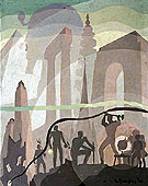Building more Stately Mansions Completed on 1944 - Aaron Douglas