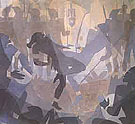 Aspects of Negro Life The Negro in an African Setting 1934 - Aaron Douglas