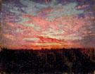 Sunrise or Sunset - Abbott Handerson Thayer