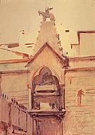 Tomb of Verona - Abbott Handerson Thayer