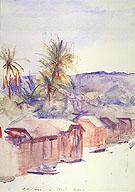 Village Street Dominica - Abbott Handerson Thayer