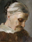 Study of Old Woman 1890 - Abbott Handerson Thayer