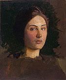 Alma Vollerman c1903 - Abbott Handerson Thayer
