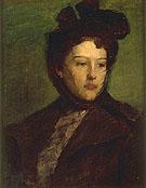 Portrait of a Woman - Abbott Handerson Thayer