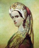 Portrait of Rachel - Achille Deveria