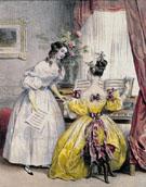 Prelude from Journal des Femmes c1830 - Achille Deveria