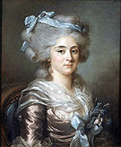 Flore Pajou Madame Clodion at the Age of Eighteen 1783 - Adelaide Labitte Guiard