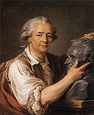 The Sculptor Augustin Pajou 1783 - Adelaide Labitte Guiard