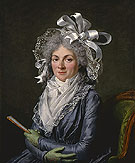 Portrait of Madame de Genlis 1790 - Adelaide Labitte Guiard