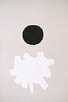 Black Plus White 1960 - Adolph Gottleib