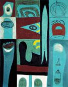 Night Voyage 1946 - Adolph Gottleib