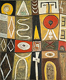 Pictogenic Fragments 1946 - Adolph Gottleib