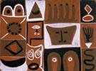 Untitled 1946 - Adolph Gottleib