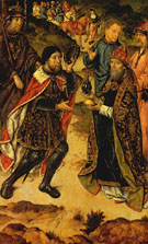 Bentinck Meeting Abraham Melchisedek - Aelbert Bouts