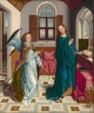 The Annunciation c1480 - Aelbert Bouts