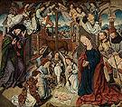 Aanbidding Door de Herders - Aelbert Bouts