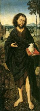 John the Baptist - Aelbert Bouts