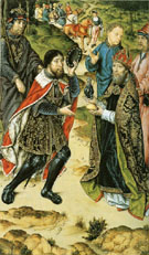 Meeting of Abraham and Melchizedek - Aelbert Bouts