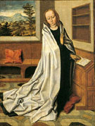 Annunciation of the Virgin I - Aelbert Bouts